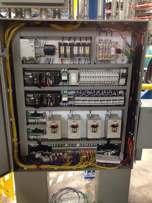 Cooler Carousel Main Control Panel - Ames Electrical Consulting